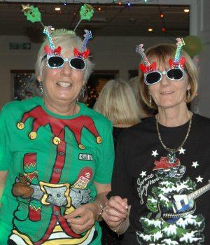 Kathy and Janice