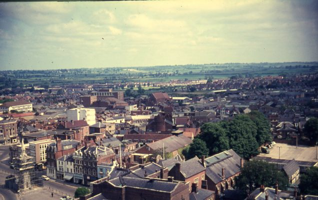 New County Hall view 70s - Pat Baker